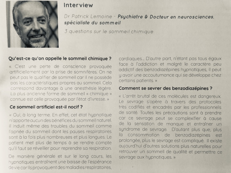 Interview Patrick Lemoine