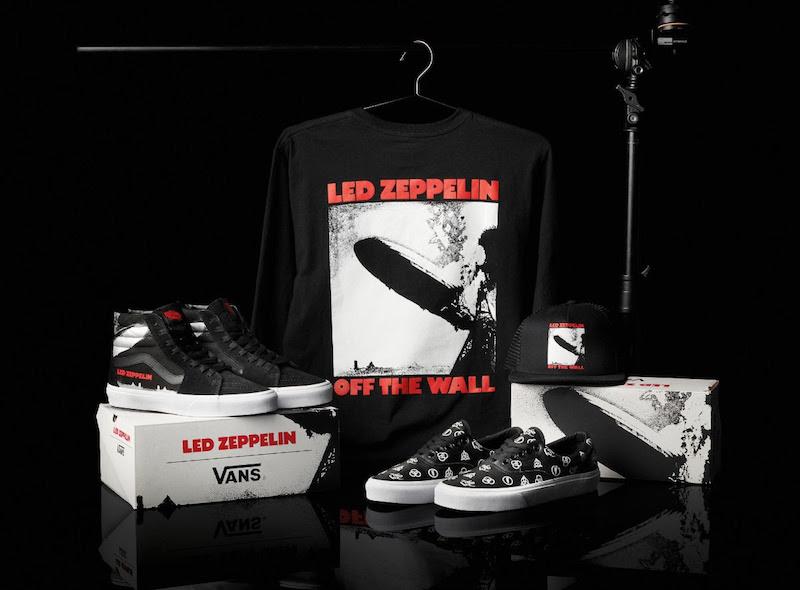 Sneakers- COLLECTION CAPSULE VANS X LED ZEPPELIN-zenitudeprofondelemag.com