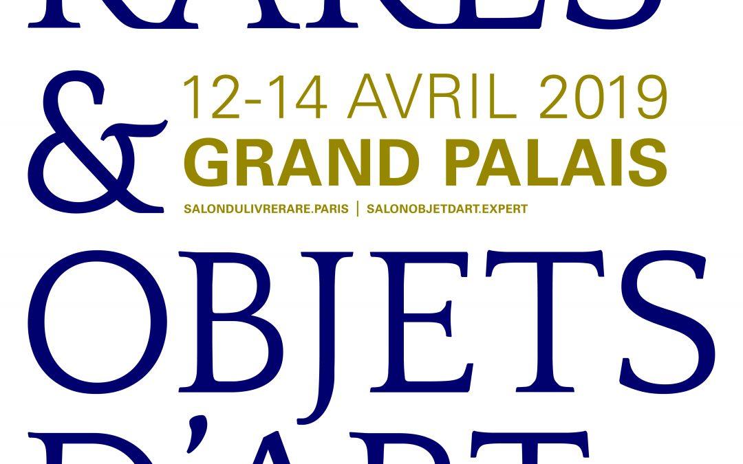 LIVRES RARES & OBJETS D'ART AU GRAND PALAIS
