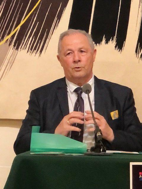 Christian Dassé,Président de l'Association pour la Promotion de la Gastronomie Sétoise