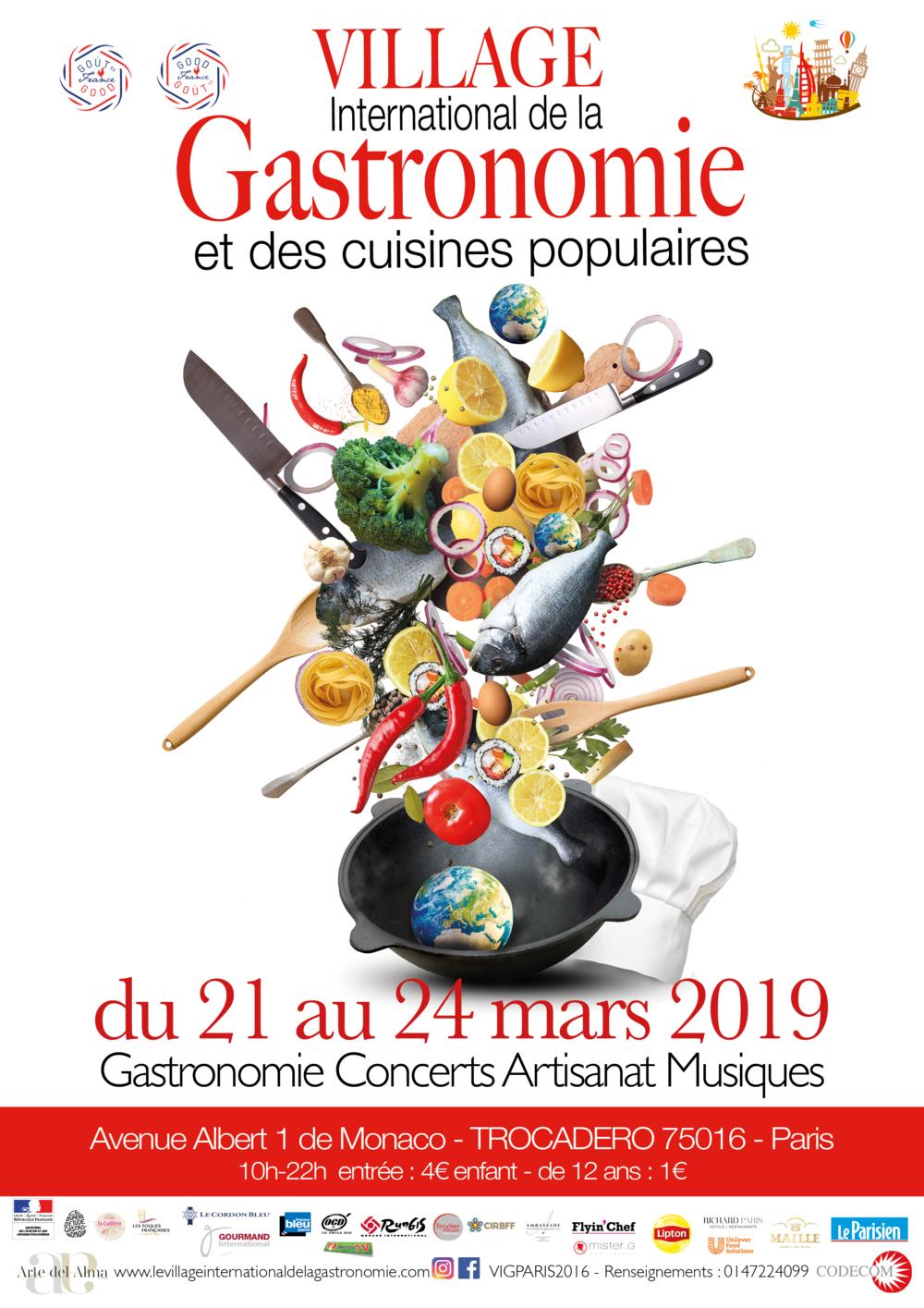 Affiche Village gastronomique 2019