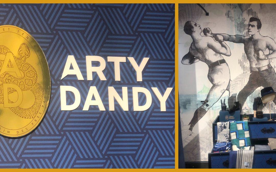 NOUVEL ESPACE ARTY DANDY DANS LE MARAIS