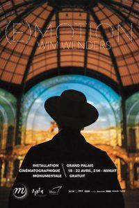 (E)motion. Wim Wenders Nef du Grand Palais