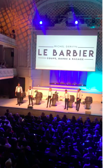 BARBIERS - « HAIR MAESTROS », LE SHOW DU GROUPE MICHEL DERVYN ET ALEXANDRE DE PARIS