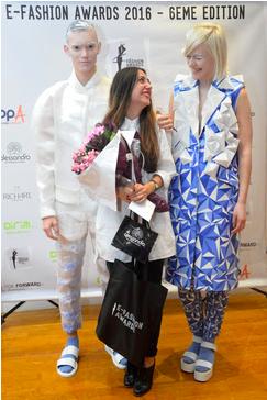 ARMINE OHANYAN-LEPORTOIS Lauréate du E-Fashion Awards en 2016