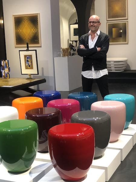 L'OBJET DÉCO : LES TABLES DOT DE REDA AMALOU À OP ART DESIGN
