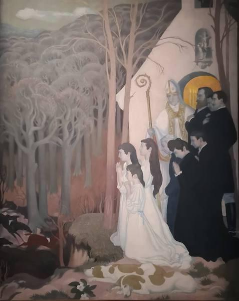 la légende de Saint Hubert - Les Nabis et le Décor ©Maxime Patrault