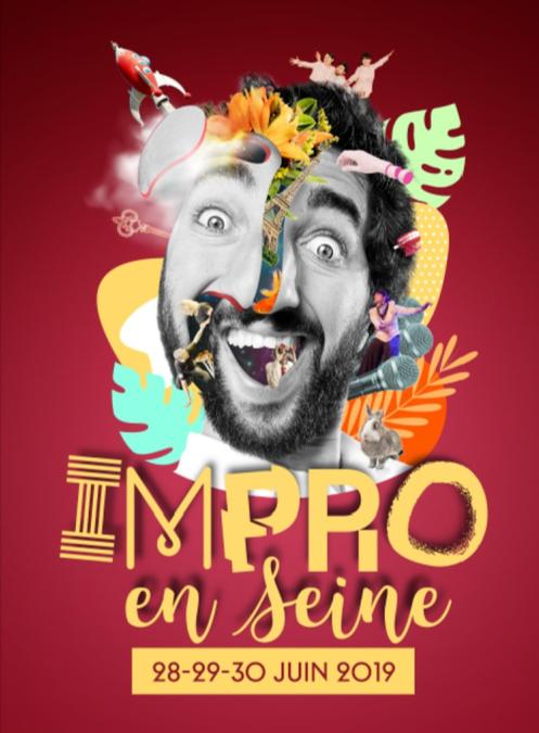 LE FESTIVAL IMPRO EN SEINE À PARIS DU 28 AU 30 JUIN !