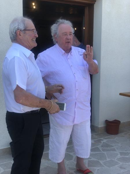 Jean-Michel Gremillet (à gauche) et Jean-Pierre Rodolphe LÉDÉ