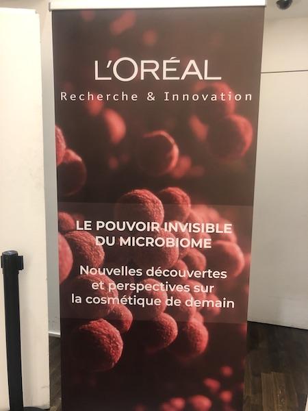 Conférence l'Oréal Microbiome cutane
