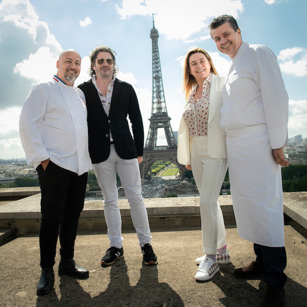 Exclusif - Frédéric Anton, Christophe Bonnat, Coco Coupérie-Eiffel, Frédéric Vardon