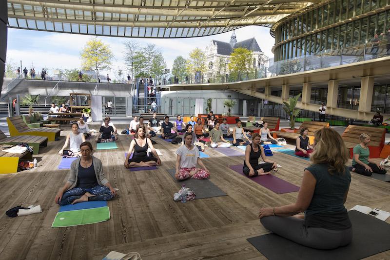 Lazy Sundays Forum des Halles zenitude profonde le mag.com
