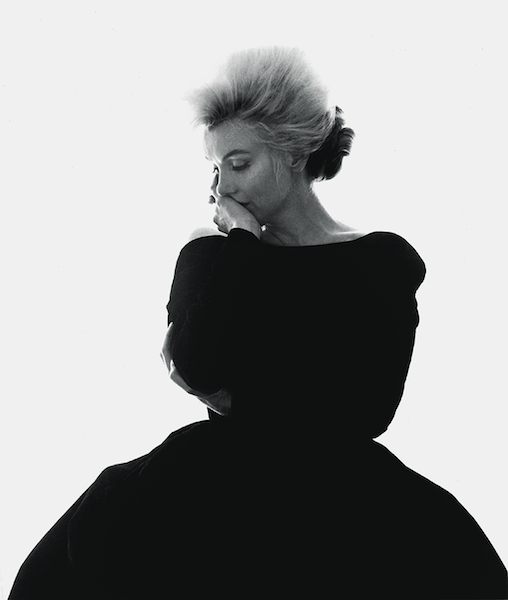 Marilyn Monroe-Bert Stern Estate-Black dress, 1962