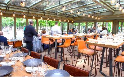 Une des terrasses les plus secrètes de Paris : La Table du Luxembourg