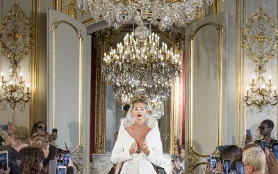 BLACK SNOW & WHITE STORM D'ADELINE ZILIOX À LA PARIS FASHION WEEK