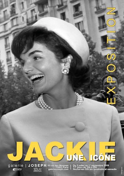 JACKIE UNE ICONE, DÉPÉCHEZ-VOUS SI VOUS VOULEZ VOIR L'EXPO