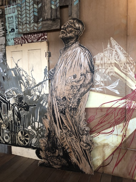 FLUCTUART Juillet 2019 - Exposition TIME CAPSULE de SWOON - Photo Zenitudeprofondelemag.com