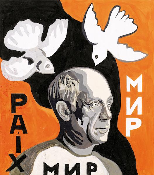 Nadia-Léger-Picasso-et-les-colombes-de-la-paix-1970-©-ADAGP-Paris-2019
