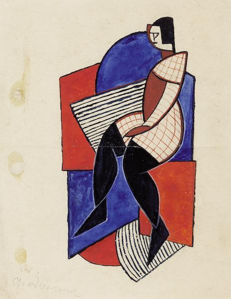 Nadia-Léger-jeune-fille-suprématiste-1922-©-ADAGP-Paris-2019-zenitudeprofondelemag.com