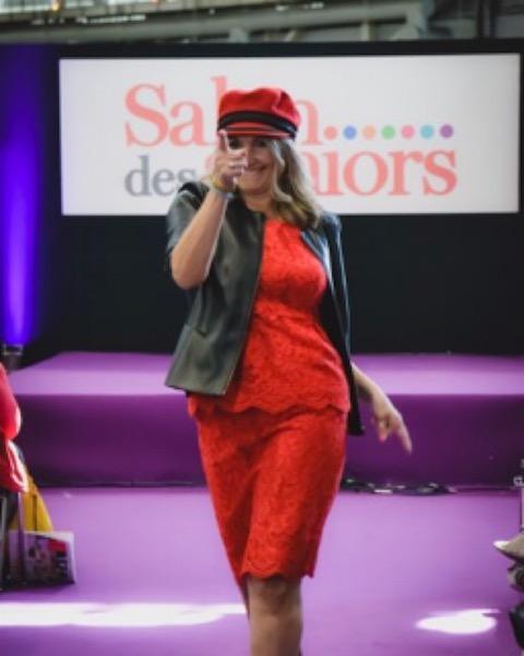 RENCONTRE AVEC ...CAROLINE IDA ALIAS FIFTYYEARS OF A WOMAN SALON DES SENIORS 2019 zenitudeprofondelemag.com