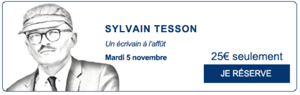 Rencontres du Figaro Sylvain Tesson- zenitudeprofondelemag.com