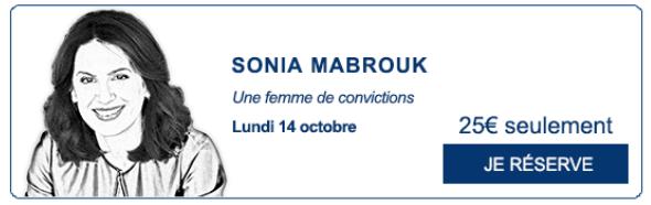 zenitudeprofondelemag.com - Rencontre du Figaro 14 octobre 2019 Sonia Mabrouk