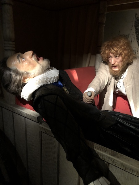 musée Grevin assassinat de henri IV