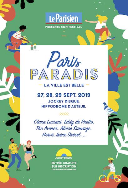 Festival Paris Paradis, c'est ce week-end!