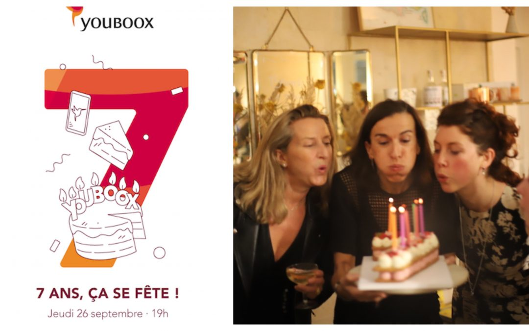 L'ANNIVERSAIRE DE YOUBOOX À LA MONNAIE DE PARIS …