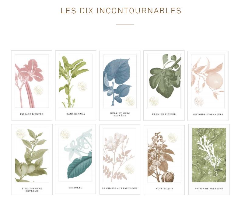 l artisan parfumeur les dix incontournables