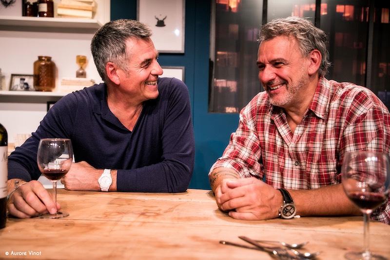 Bruno Gaccio & Philippe Giangreco - Les Pâtes à l'ail - © Aurore Vinot
