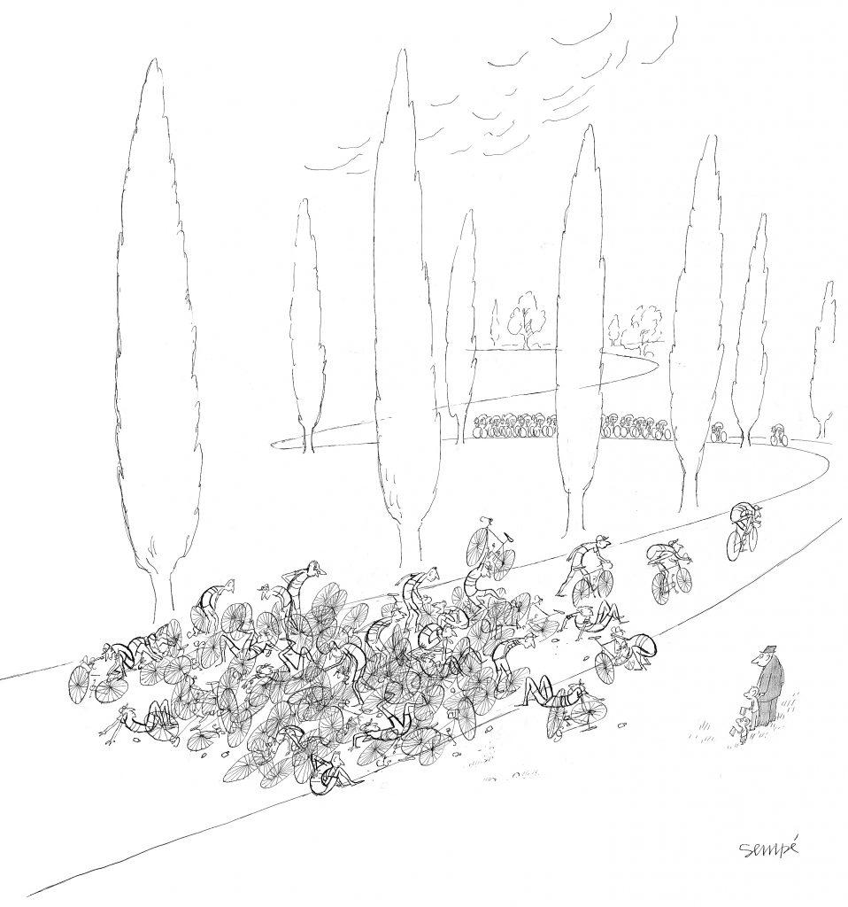 SEMPÉ Sempé, itinéraire d'un dessinateur d'humour, éditions Martine Gossieaux non daté © J.J. Sempé