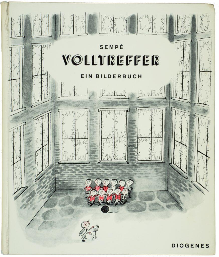 Le premier album de Sempé: Volltreffer, Diogenes Verlag, 1958 © J.J. Sempé