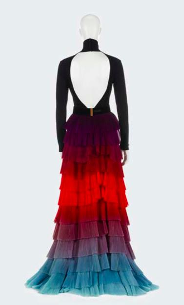 Givenchy par Clare Waight Keller, « Thaïs », body, jupe et ceinture portés par Cate Blanchett, Haute couture, printemps-été 2018 © Aurélie Dupuis/ Givenchy/Azentis