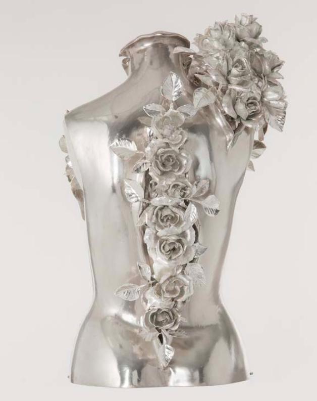 Givenchy par Alexander McQueen, « Rose Corset », Haute couture, printemps-été 2000 © Givenchy
