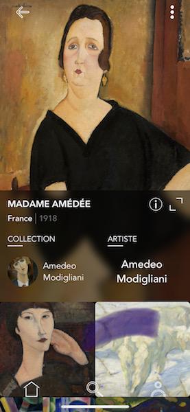 ARTURE - MADAME AMEDEE MODIGLIANI