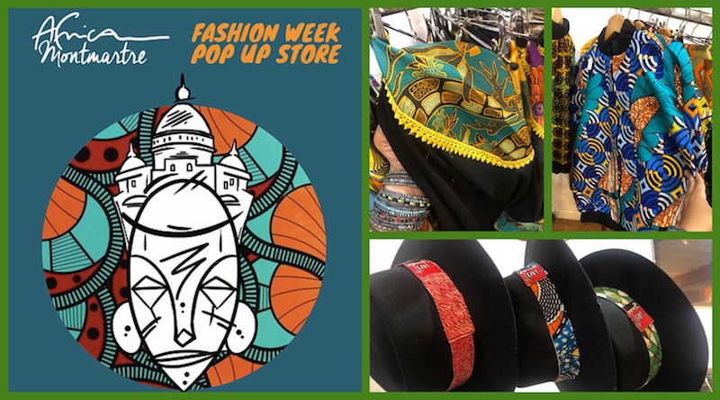 AFRICAMONTMARTRE FASHION WEEK POP UP STORE ET CONCOURS INSTAGRAM!