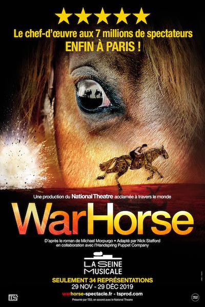 WAR HORSE ENFIN À PARIS, RÉSERVEZ VITE VOS PLACES !