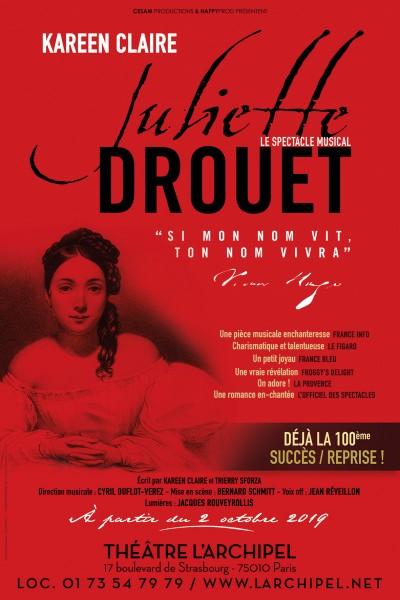 JULIETTE DROUET AU THÉÂTRE L'ARCHIPEL