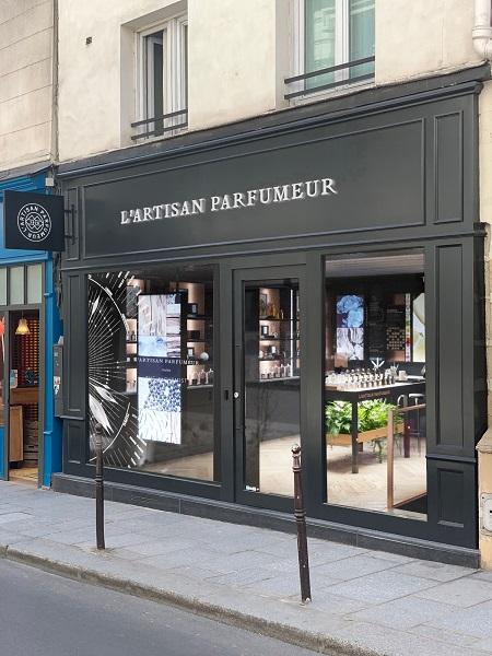 L'Artisan Parfumeur ouvre une nouvelle boutique à Paris