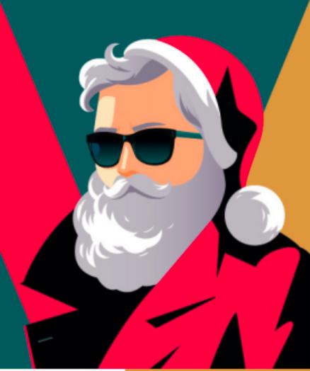 Noël #2 – SANTA COOL, la nouvelle création de la Belle Mèche