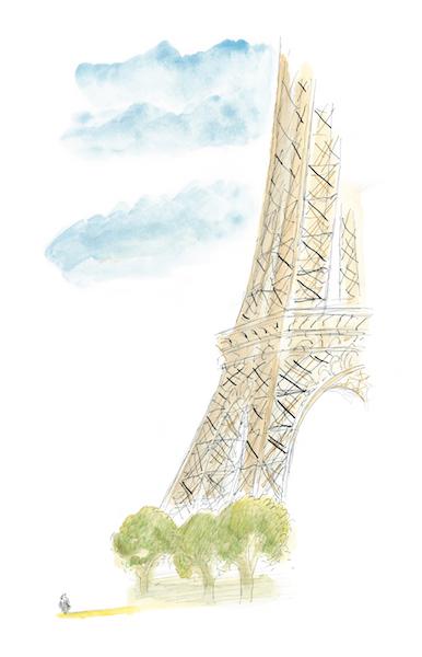 Un peu de Paris et d'ailleurs, Éditions Martine Gossieaux, 2011 © J.J. Sempé