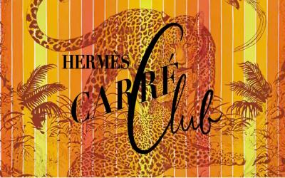 Hermès Carré Club à Paris au Carreau du Temple.