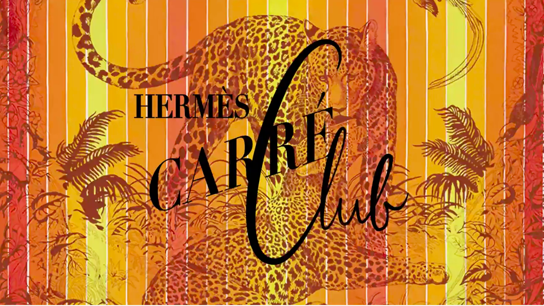 Hermès Carré Club à Paris au Carreau du Temple.