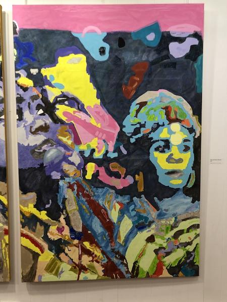 MANEL NDOYE Solo Show 7 dec 2019 - 7 Fév 2020 - Galerie Carole Kvasnevski - Paris