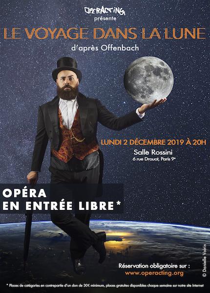 Le Voyage dans la Lune D'après Jacques Offenbach