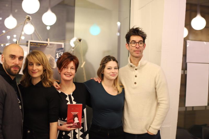 Grégory Corre, Florence Coste, Mathilde Moulinat, Nicolas Taffin