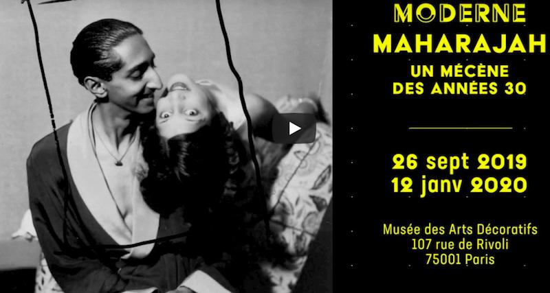 DERNIÈRE SEMAINE POUR DÉCOUVRIR L'EXPO «MODERNE MAHARAJAH, UN MÉCÈNE DES ANNÉES 1930» AU M.A.D DE LA RUE DE RIVOLI…