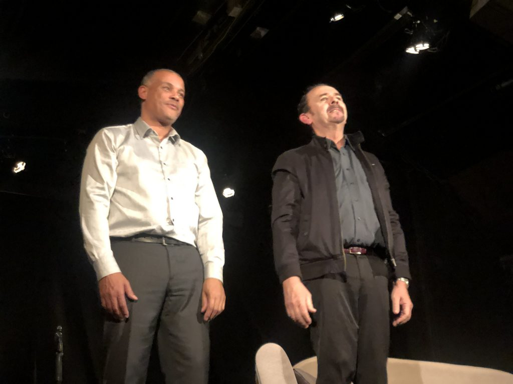 P. Seminor (à g.) et O.Douau (à dr.) ©zenitudeprofondelemag
