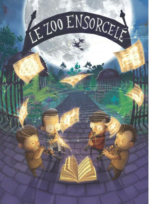 « Le Zoo ensorcelé », un spectacle jeune public musical d'après le « Carnaval des animaux » de Camille Saint-Saëns.